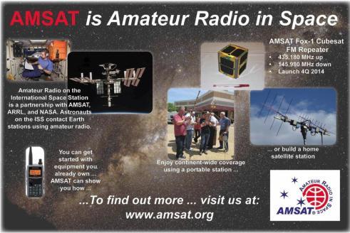 AMSATisAmateurRadioInSpace