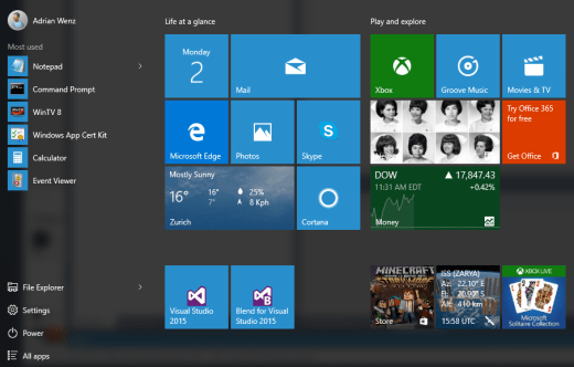 PinningToWin10StartMenu