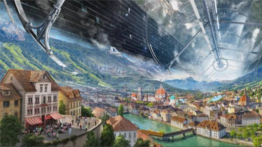 Large Habitat - Blue Origin