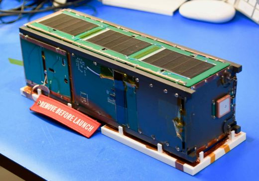 NNU RFTSat (Radio Frequency Tag Satellite) CubeSat
