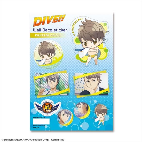 DIVE!! ウォールデコステッカー デザイン02 富士 アニメ・キャラクターグッズ新作情報・予約開始速報