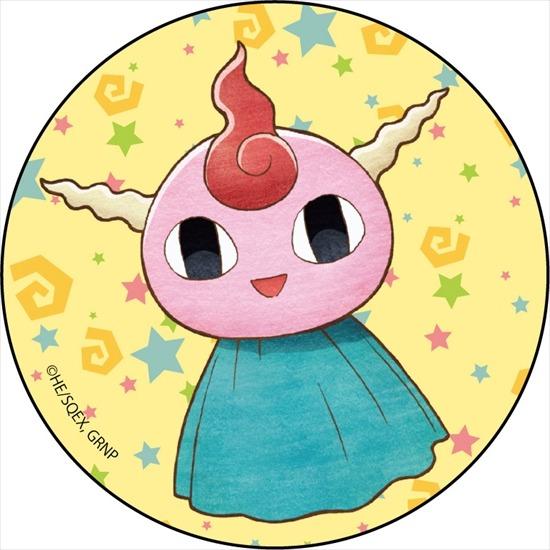 魔法陣グルグル カンバッジ ギップル アニメ・キャラクターグッズ新作情報・予約開始速報