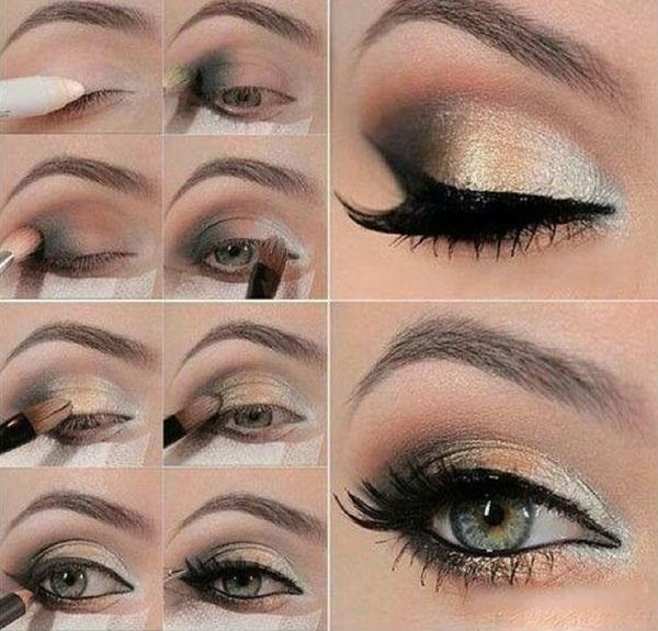 مكياج عيون بالصور خطوة خطوة تعلمي كيفية تزيين العيون خطوة خطوة حبيبي