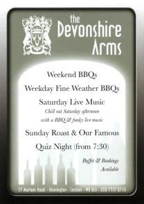 menu design Cornwall