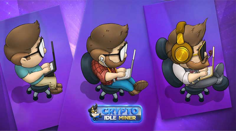 crypto idle miner mobil oyun