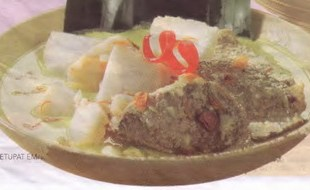 Resep Ketupat Empal