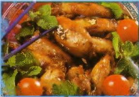 Resep Sayap Ayam Madu