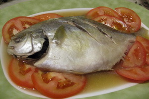Resep Ikan Bawal Rebus