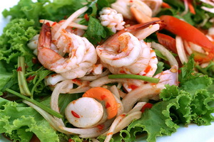 Resep Salad Seafood