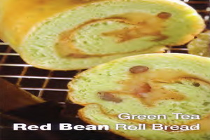 resep-grean-tea-red-bean-roll-bread