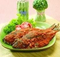 Resep Ikan Mas Bakar Tomat