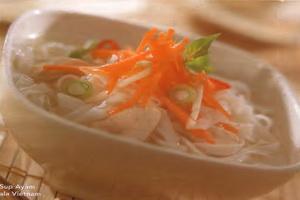 Resep Sup Ayam Ala Vietnam