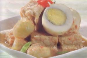 Resep Telur Ayam Masak Bobor Pedas