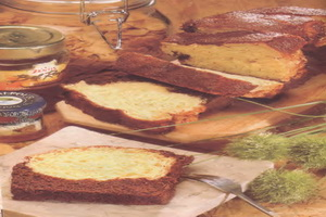 RESEP CHEESE CAKE BREAD
