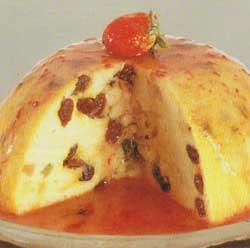 Resep Puding Roti Panas