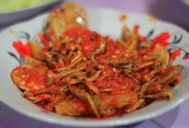 Resep Sambal Tanak Ikan Asin (Restoran Padang Mandhe)