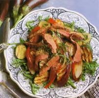 Resep Salad Daging Sapi Panggang Dan Terong