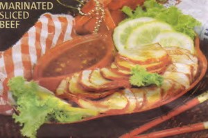 Resep Marinated Sliced Beef