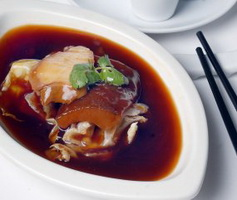 resep-abalone-and-duck-liver-combination