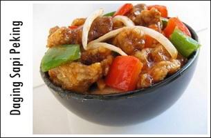 Resep Daging Sapi Peking