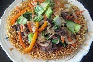 Resep Ifu Mi Dengan Daging Sapi Dan Sayuran (Hongkong)