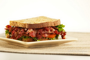 Resep Beefbacon Sandwich