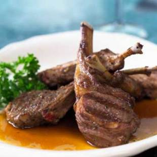 Resep Grilled Lamb Chop With Mustard Sauce