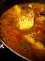 Resep Gulai Kepala Ikan Kakap Merah