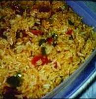 Resep Nasi Spanyol Dengan Jamur Dan Paprika