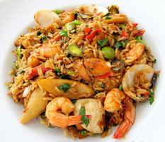 Resep Nasi Goreng Seafood Kerapu Nanas