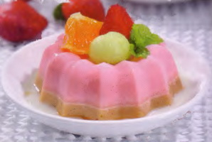 resep-puding-strawberry-kolak