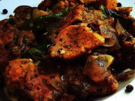 Resep Chicken Black Pepper (China)
