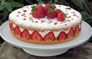 Resep Strawberry Cream Tart