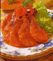 Resep Udang Goreng Saus Kuning