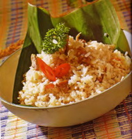 Resep Nasi Gurih Daging Kambing