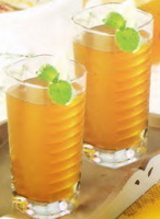 Resep Ice Mint Lemon Tea