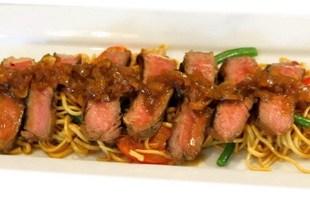 Resep Beef Steak Oriental Mie