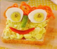 Resep Sadwich Salad Telur