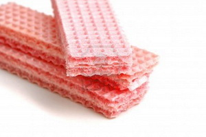 Resep Roti Lapis Wafer Strawberry
