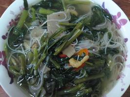 Resep Soun Kuah Kangkung