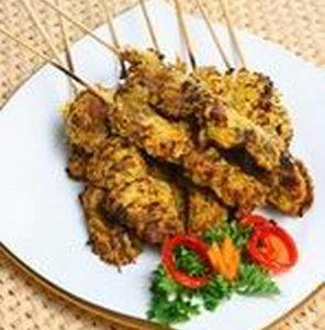 Resep Sate Ayam Bumbu Kelapa
