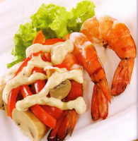 resep-udang-flambeed
