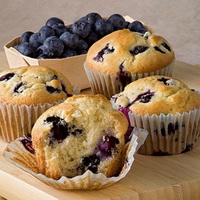 Resep Muffin Blueberry