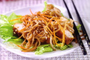 resep-soba-chicken-salad