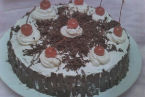 Resep Black Forest Kismis