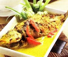 Resep Ikan Bawal Masak Kuning