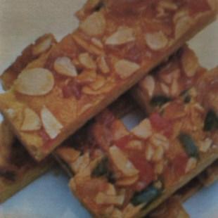 Resep Florentine Cookies
