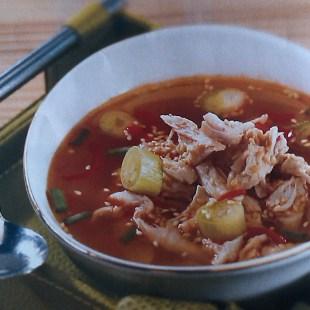 Resep Korean Chicken Shoup