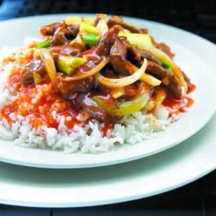 Resep Nasi Plus Daging Tumis