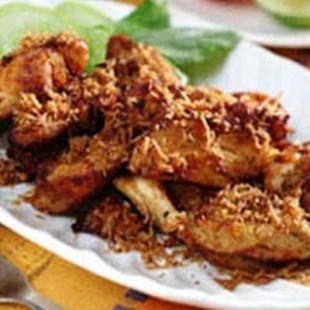 Resep Ayam Gepuk Kemangi